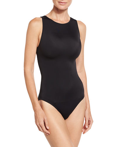 Carlotta Back-Zip One-Piece Swimsuit