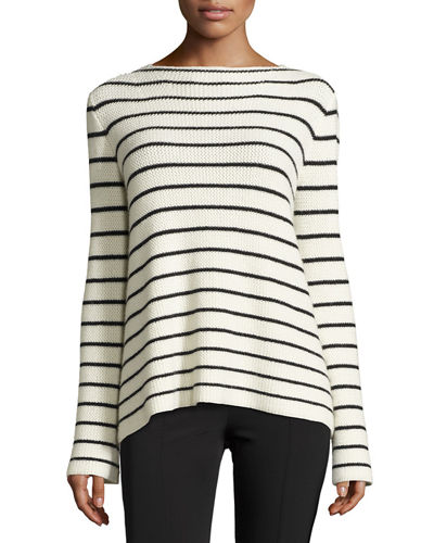 Breton Striped Knit Sweater