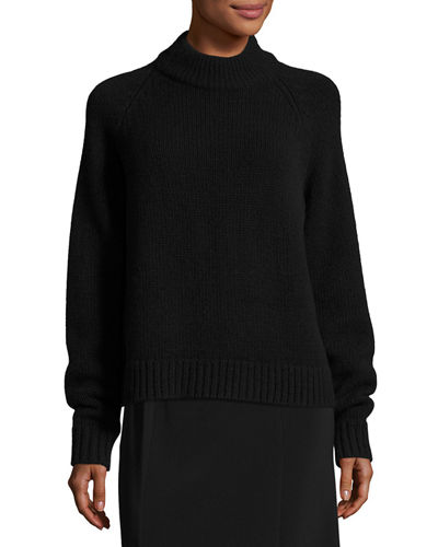 Sephin Cashmere Mock-Neck Sweater