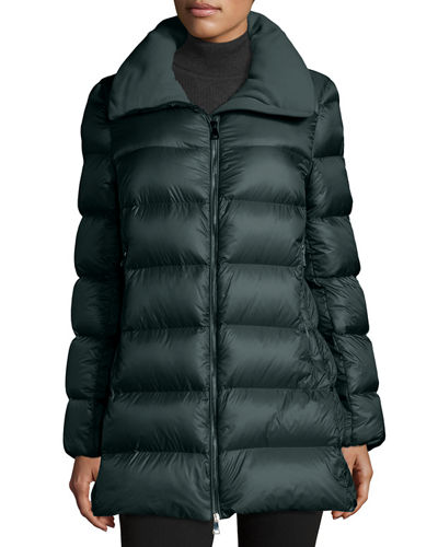 Torcyn Quilted Wool-Lined Puffer Coat