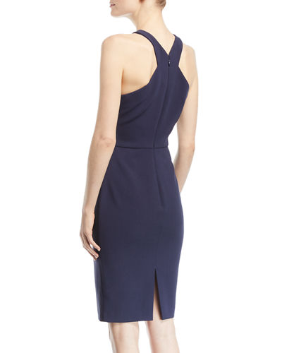 Carolyn Halter-Neck Sheath Dress