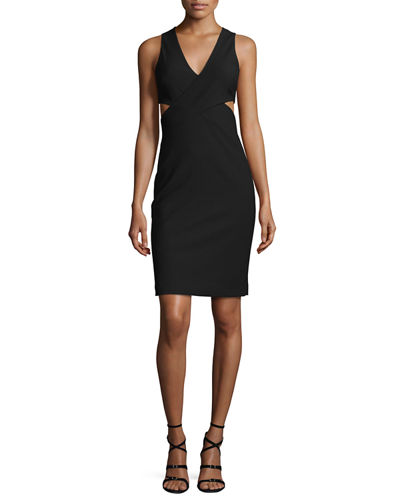 Aldridge Sleeveless Cutout Sheath Dress
