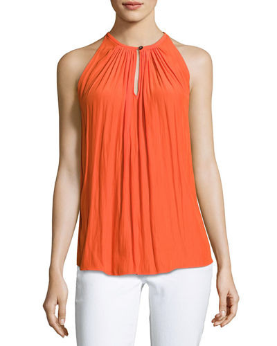 Piper Sleeveless Keyhole Top