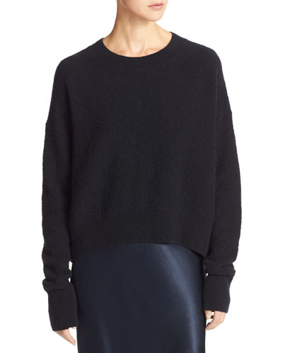 Vince Plush Easy Crewneck Sweater