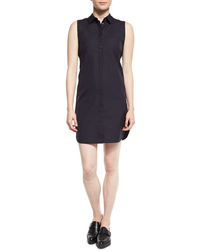 3.1 Phillip Lim Sleeveless Overlay-Back Shirtdress