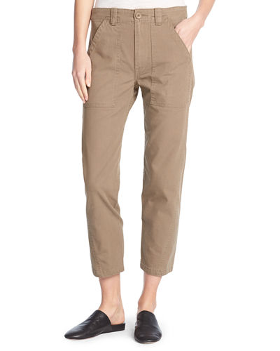 Utility Cotton Military Pants
