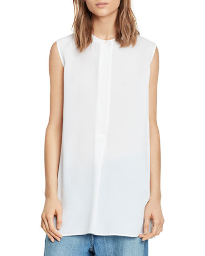 Sleeveless Split-Side Tunic
