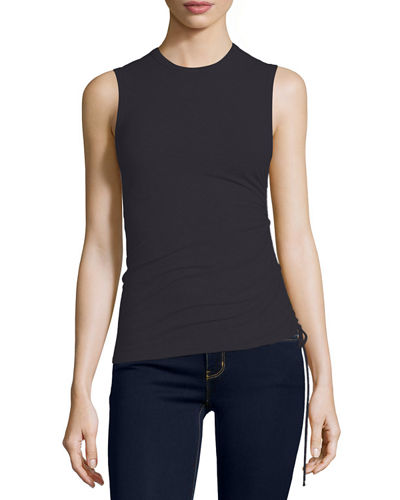 Rimaeya Tie-Side Tank Top