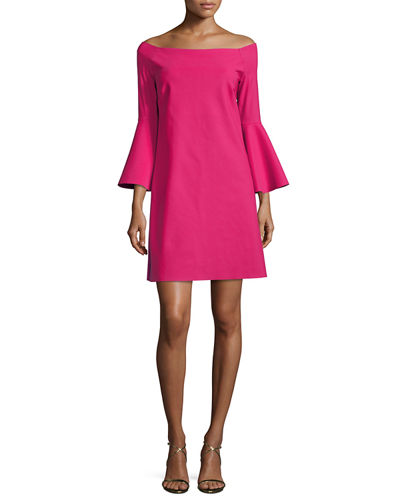 Chiara Boni La Petite Robe Nana Off-the-Shoulder Jersey