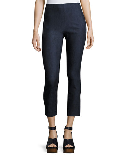 Simone Cropped Denim Pants