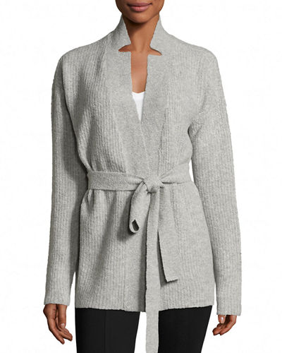 ATM Anthony Thomas Melillo Cashmere Blend Belted Cardigan
