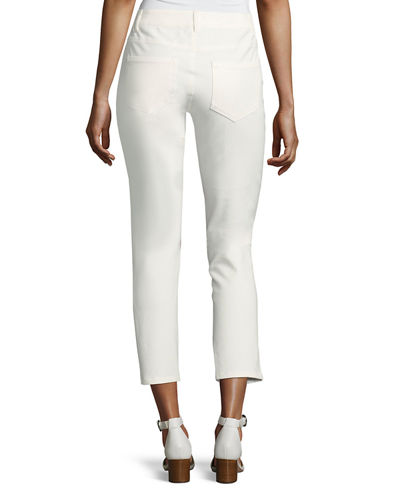 Jeannot Five-Pocket Ankle Pants