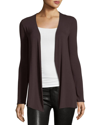 Soft Touch Open-Front Cardigan