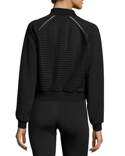 Flash Performance Jacket W/Mesh Panels