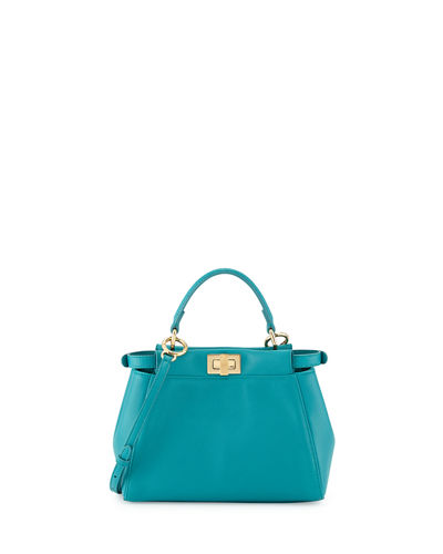 Peekaboo Mini Leather Satchel Bag