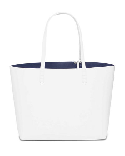 Mansur Gavriel Large Leather Tote Bag with Coated