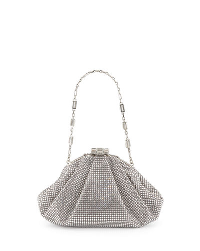 Enchanted Allover Beaded Pochette Clutch Bag
