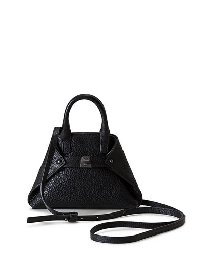 Ai Micro Leather Crossbody Bag