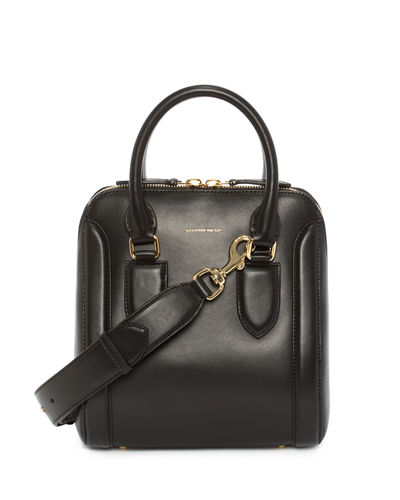 Small Heroine Leather Satchel Bag