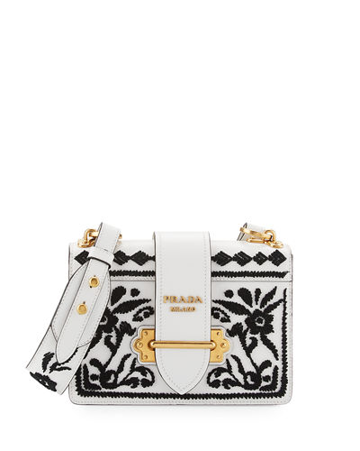 Embroidered Cahier Bag