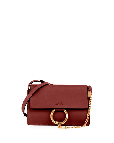 Faye Small Leather Shoulder Bag