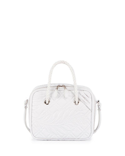 Balenciaga Blanket Square Small AJ Quilted Tote Bag