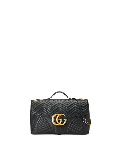 GG Marmont 2.0 Maxi Quilted Top-Handle Bag