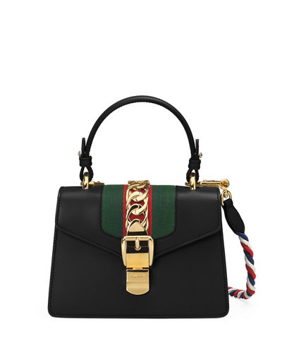 Sylvie Small Top-Handle Satchel Bag
