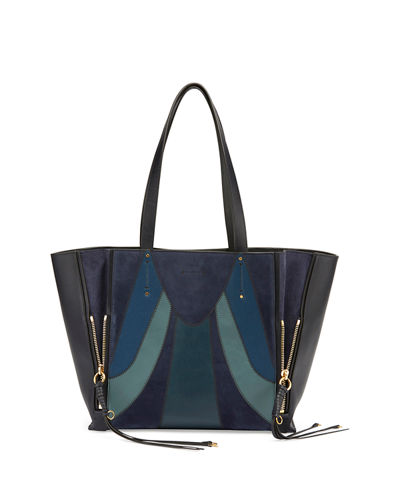 Milo Medium Patchwork Tote Bag