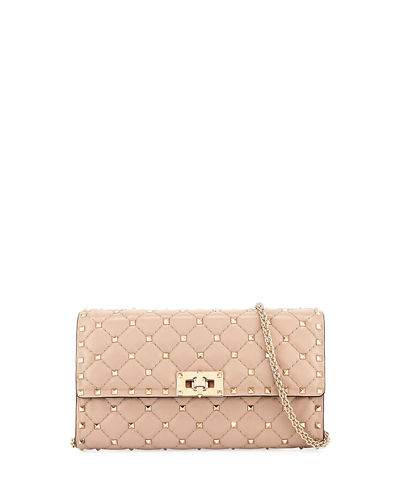 Valentino Quilted Rockstud Chain Bag
