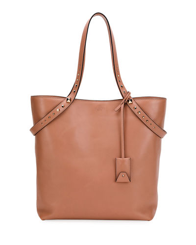 Lovestud Leather Tote Bag