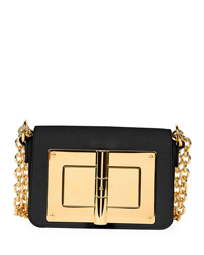 Natalia Small Leather Chain Shoulder Bag