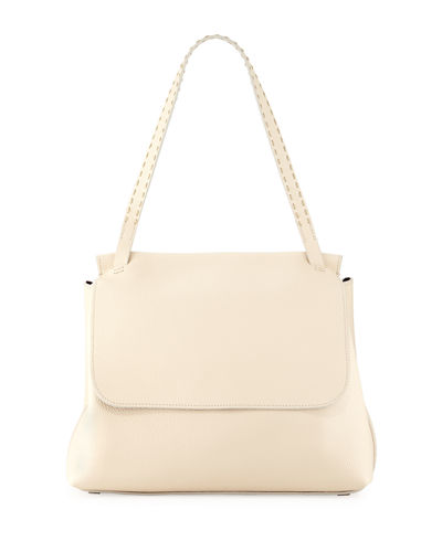 THE ROW Sidekick Fine-Grain Leather Shoulder Bag
