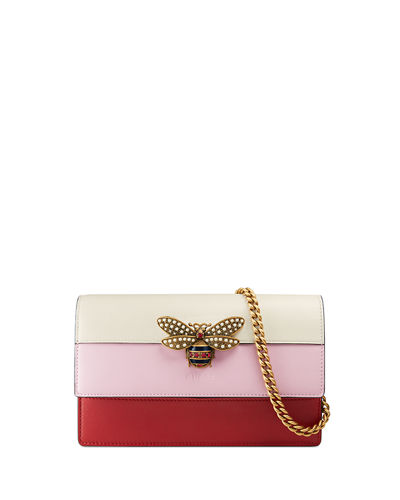 Fly Ladies Colorblock Wallet on a Chain