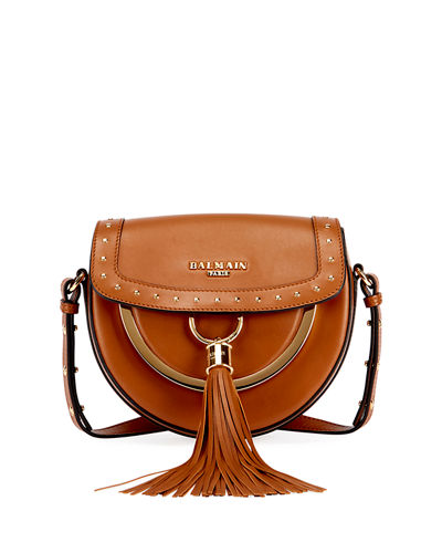 Domain 18 Leather Saddle Bag