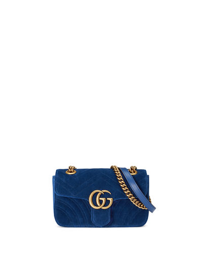 GG Marmont 2.0 Suede Shoulder Bag