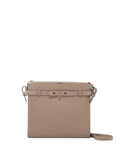 B-Tracollina Leather Shoulder Bag