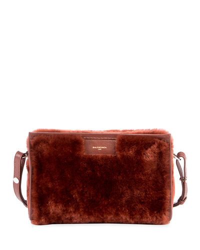 Bazar Shearling Fur Shoulder Bag