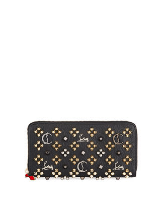 Panettone Studded Wallet Quick Look. BLACK PATTERN; IVORY/BLACK. Christian  Louboutin