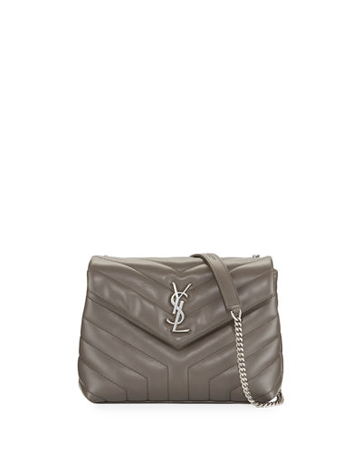 Saint Laurent Loulou Monogram Small Y-Quilted Leather Chain