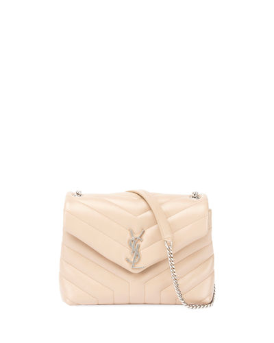 Loulou Monogram Small Y-Quilted Leather Chain Bag