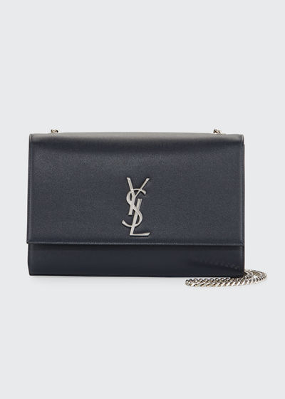 Kate Monogram Medium Chain Grain Leather Shoulder Bag