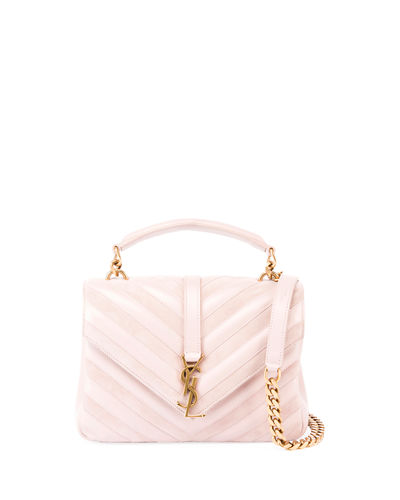 Monogram College Medium Shoulder Bag