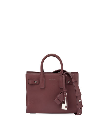Sac de Jour Leather Nano Carryall Bag