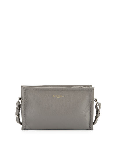 Bazar Tumbled Leather Shoulder Bag