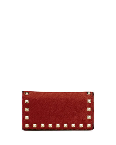Rockstud Vitello Continental Wallet