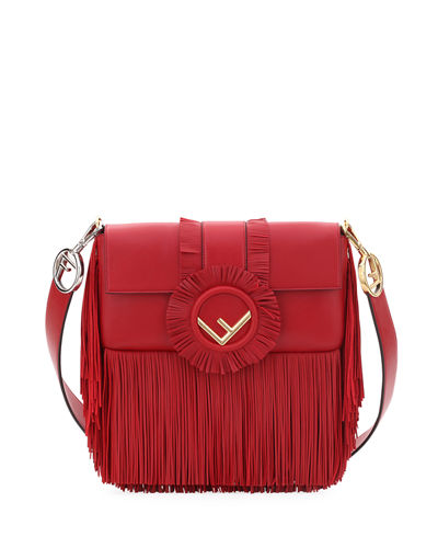 Baguette Seal Napa Fringe Shoulder Bag