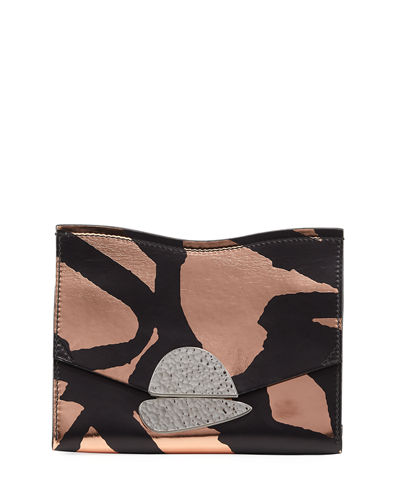 Curl Small Graffiti Clutch Bag