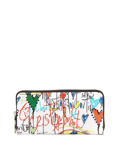 Panettone Graffiti Leather Wallet