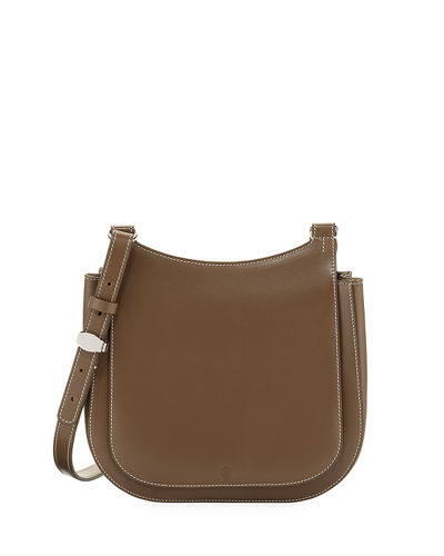 Hunting 9 Vegetable-Dyed Leather Shoulder Bag